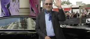 Steven Spielberg à son arrivée à l'Hôtel Martinez pour un dîner avec le jury du Festival de Cannes le 14 mai 2013
