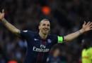 Zlatan Ibrahimovic, auteur d'un doublé pour son dernier match de L1 avec le PSG au parc des Princes, le 14 mai 2016