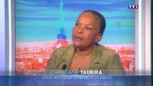 Christiane Taubira à nouveau en désaccord avec le gouvernement