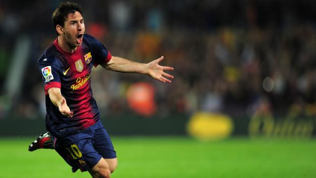 En 2012, l'attaquant barcelonais a inscrit 91 buts, battant de six unités le record de Gerd Muller établi en 1972.
