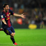 En 2012, l&#039;attaquant barcelonais a inscrit 91 buts, battant de six units le record de Gerd Muller tabli en 1972.