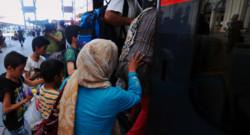 Migrants Budapest Hongrie Train