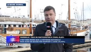Municipales : à Marseille, taux de participation à 17h de 41,22%, contre 45,09% en 2008