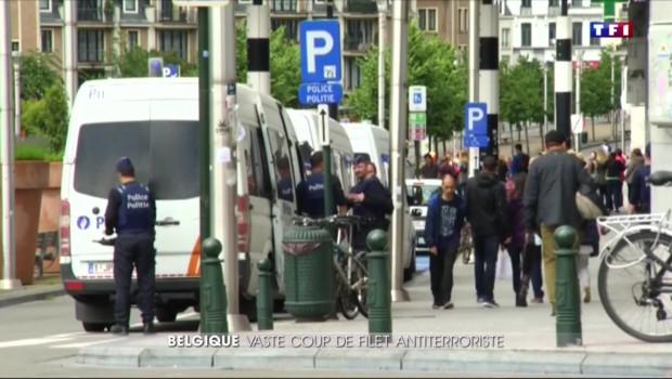 Vaste coup de filet anti-terroriste en Belgique