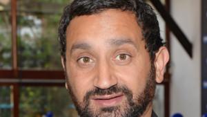 Cyril Hanouna, lors de la conférence de presse d'Europe 1, en septembre 2014.