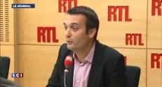"""Florian Philippot : Cécile Duflot """"aurait dû démissionner beaucoup plus tôt"""""""