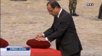 Immense émotion ce jeudi matin aux Invalides à Paris, la Nation française a rendu un hommage solennel aux quatre soldats tombés en Afghanistan samedi dernier, sous les regards de leurs proches.