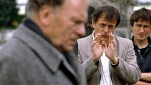Patrice Chéreau sur le tournage du film Ceux qui m'aiment prendront le train