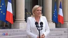Brexit : Marine Le Pen déçue par son entretien avec François Hollande