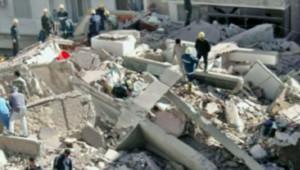 Immeuble effondré à Alexandrie (24 décembre 2007)