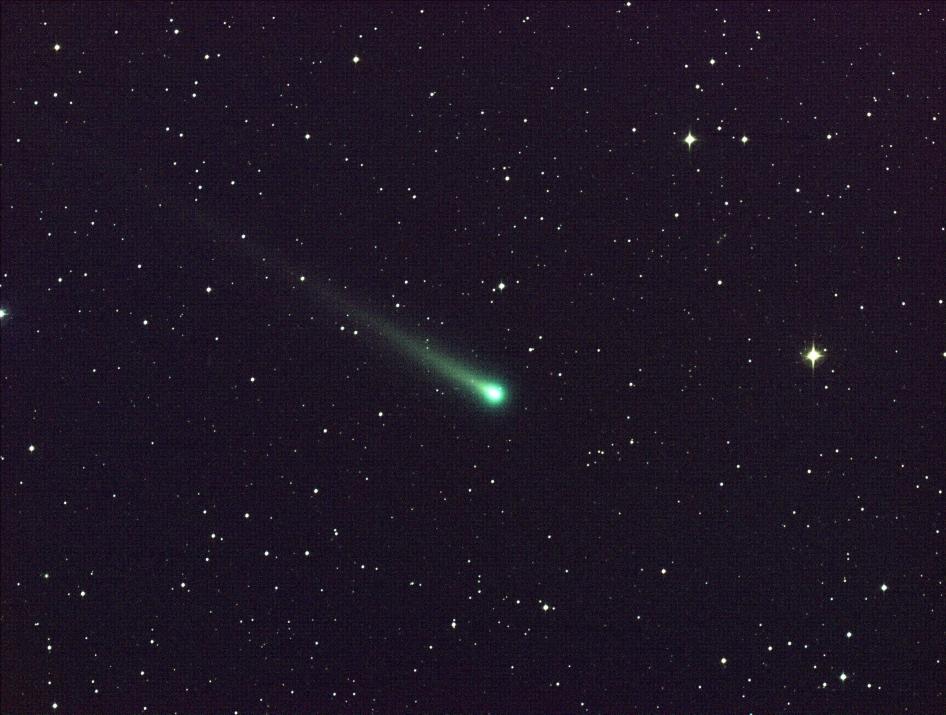 La comète Ison passe près de la Constellation de la Vierge, le 8 novembre 2013.