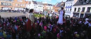 Nord : la tradition des géants du carnaval