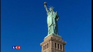 Offerte par la France, la Statue de la Liberté trône depuis 125 ans sur l'île de Liberty Island à New York.