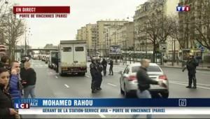 """Porte de Vincennes : """"On a vu sortir un grand black avec les mains en l'air"""""""