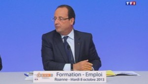 François Hollande, le 8/10/13