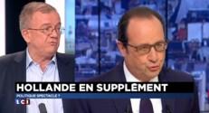"""Hollande sur Canal+ : """"Ils étaient en famille"""" a déclaré Dominique de Montvalon"""