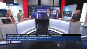 """Jean Arthuis """"étonné"""" par le discours d'Arnaud Montebourg"""