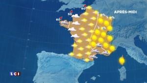 La météo du jeudi 17 décembre : éclaircies sur l'ensemble du pays, nuages à l'est