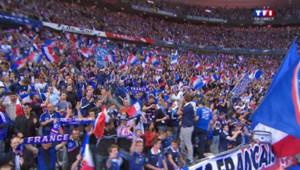 Les supporters au rendez-vous pour le match de rentrée des Bleus, face à l'Espagne, le 4 septembre 2014