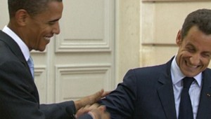 Nicolas Sarkozy Barack Obama