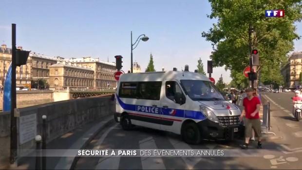 Attentat de Nice : trois évènements estivaux annulés à Paris