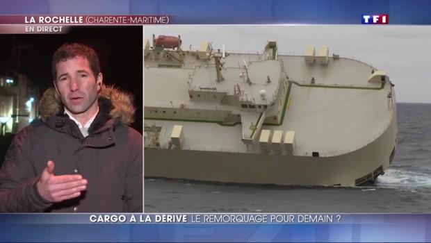 Cargo à la dérive : le remorquage pour dimanche ?