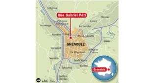 carte de Grenoble