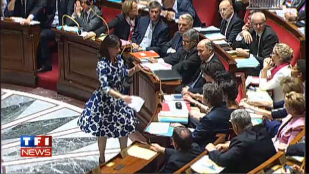 Est-ce la robe de Cécile Duflot qui a agité l'Assemblée ?