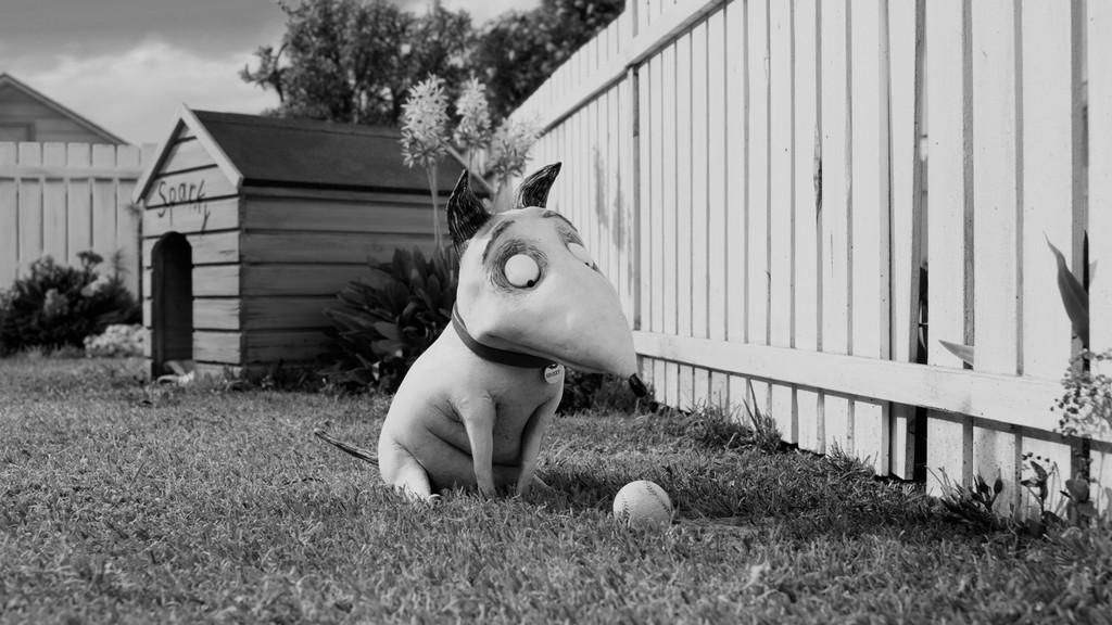 Frankenweenie de Tim Burton