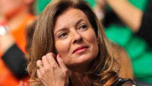 La journaliste Valérie Trierweiler, compagne de François Hollande