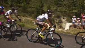 Le coureur de l'équipe AG2R, Jean-Christophe Péraud