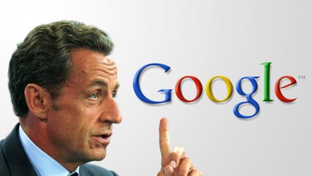 Les reproches de Nicolas Sarkozy à Google