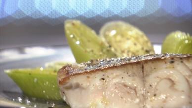Pav de lieu noir r moulade aux poireaux tuv s petits plats en equilibre mytf1 - Toutes les recettes de petit plat en equilibre ...