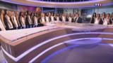 VIDEO. Concours Miss France : découvrez les 33 candidates sur le plateau du JT