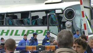 Car scolaire heurté par un TER en Haute-Savoie (2 juin 2008)