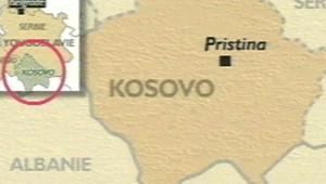 carte kosovo pristina kosovo carte