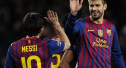 """Contre le Bayer Leverkusen, en 8e de finale retour de la Ligue des champions (victoire de Barcelone 7-1) , """"Leo"""" a marqué cinq fois. Du jamais vu dans la compétition."""
