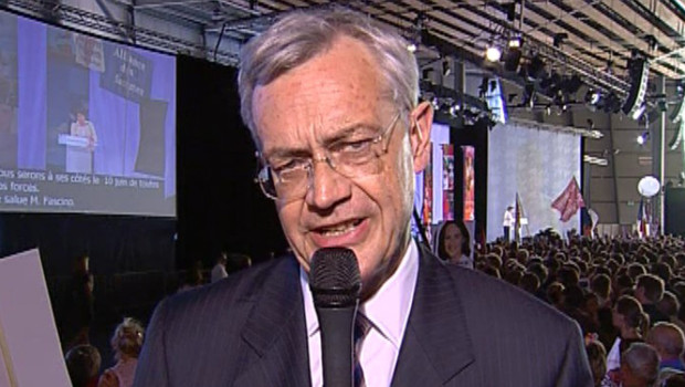 Election présidentielle/TF1-LCI : Jean-Louis Bianco, directeur de campagne de Ségolène Royal, le 3 mai 2007