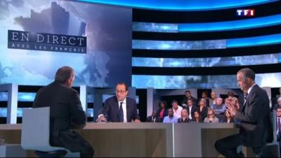 """Hollande sur TF1 : """"Des preuves qui laissent penser que Serge Lazarevic est vivant"""""""
