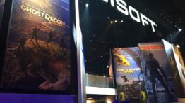 Le stand Ubisoft affiche tous ses héros