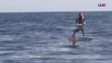 Monaco-Calvi : l'exploit réalisé sur un kite surf