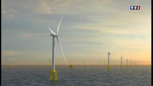 À Saint-Nazaire, la côte se dote d'éoliennes offshore