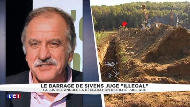 """Barrage de Sivens : """"Les dégâts sont faits malheureusement"""" déplore Noël Mamère"""