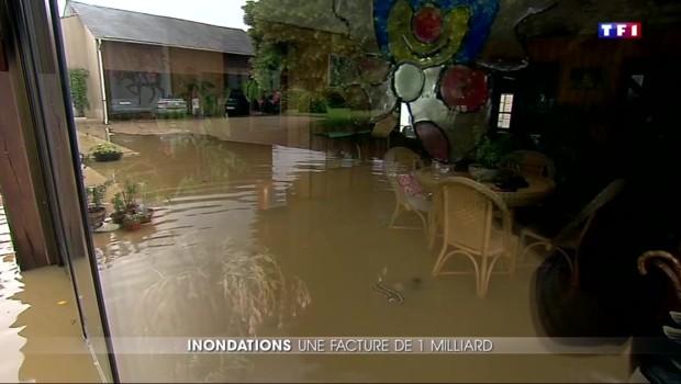 Inondations : une facture qui avoisinerait le milliard