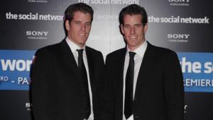 Les jumeaux Winklevoss, en conflit avec le fondateur de Facebook, Mark Zuckerberg