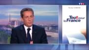 Nicolas Sarkozy est l'invité du 20h de TF1