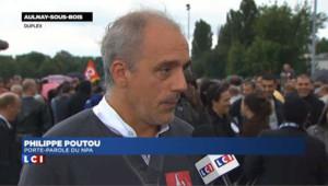 """Poutou à Aulnay-sous-Bois : """"il faut qu'on riposte"""""""