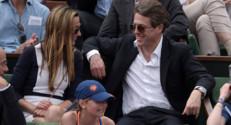 Hugh Grant à Roland-Garros 2015
