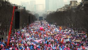 La manifestation contre le mariage pour tous le 24 mars 2013