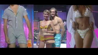 """En 1994, Sophie Favier célèbre le bikini dans """"Sacrée Soirée"""" sur TF1"""